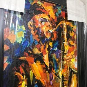 Leonid Afremov framed canvas 🎨